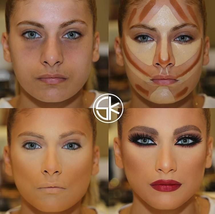 countoring make up 14