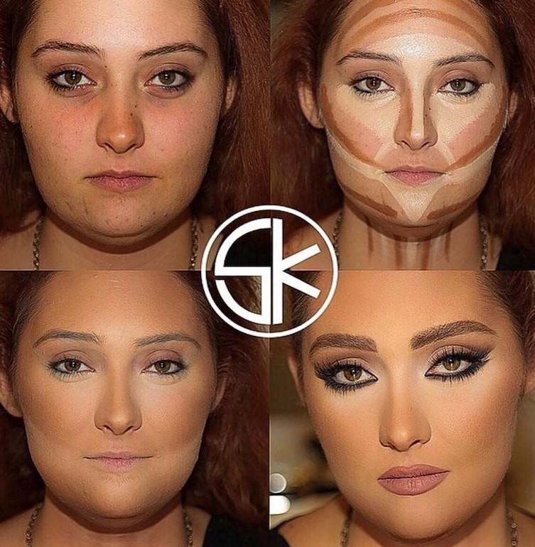 countoring make up 16