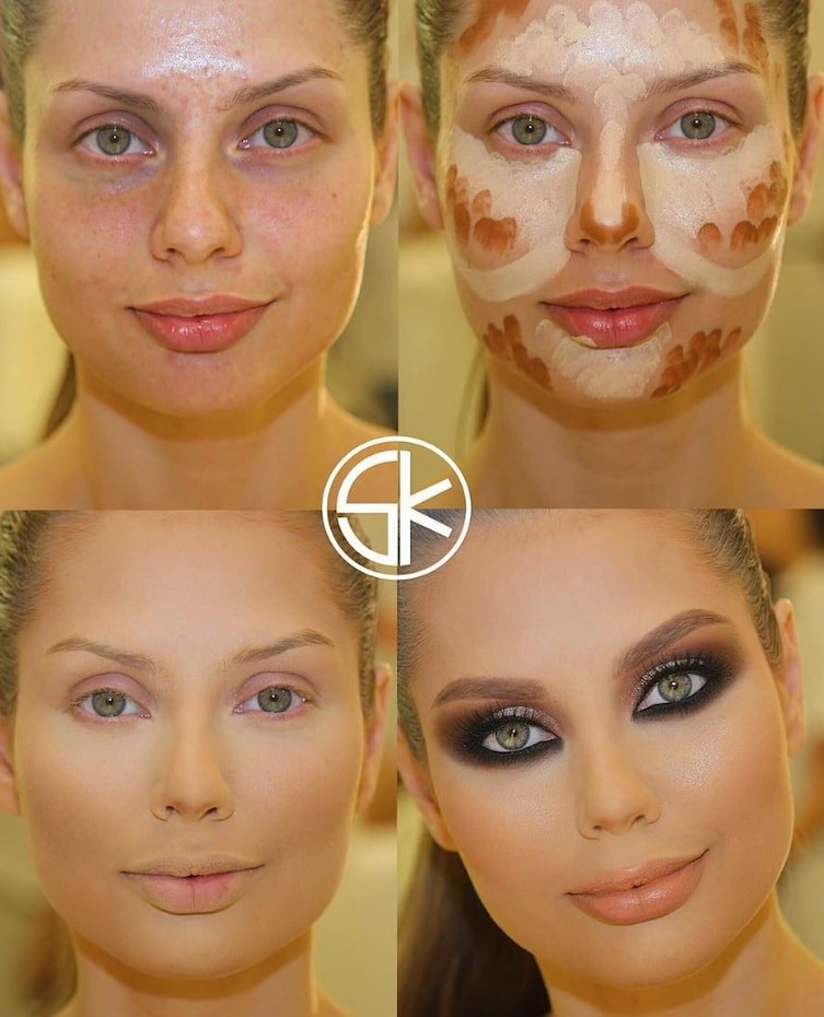 countoring make up 8
