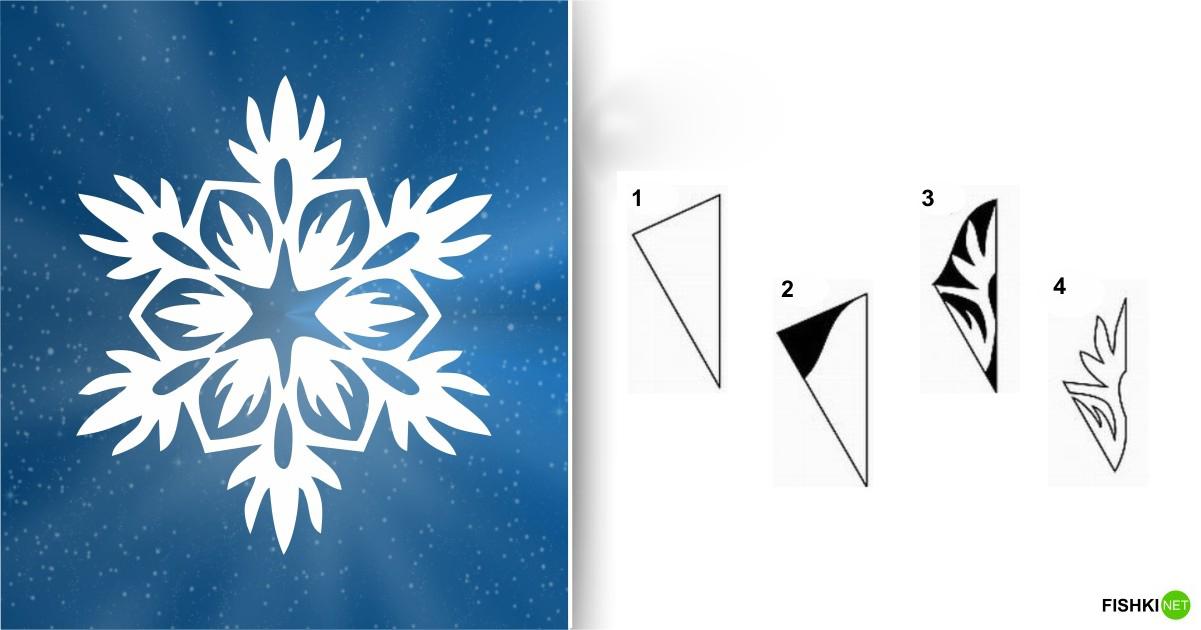 estrellas de copos de nieve de navidad con papel 10