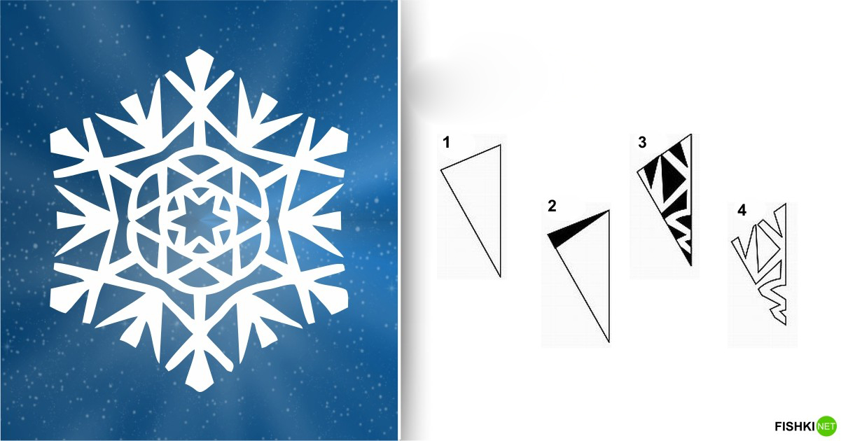estrellas de copos de nieve de navidad con papel 15