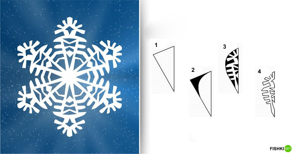 estrellas de copos de nieve de navidad con papel 16