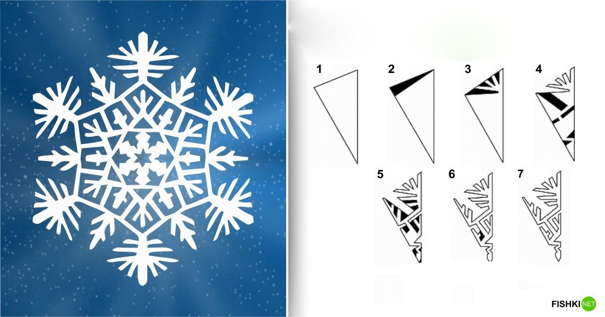 estrellas de copos de nieve de navidad con papel 3
