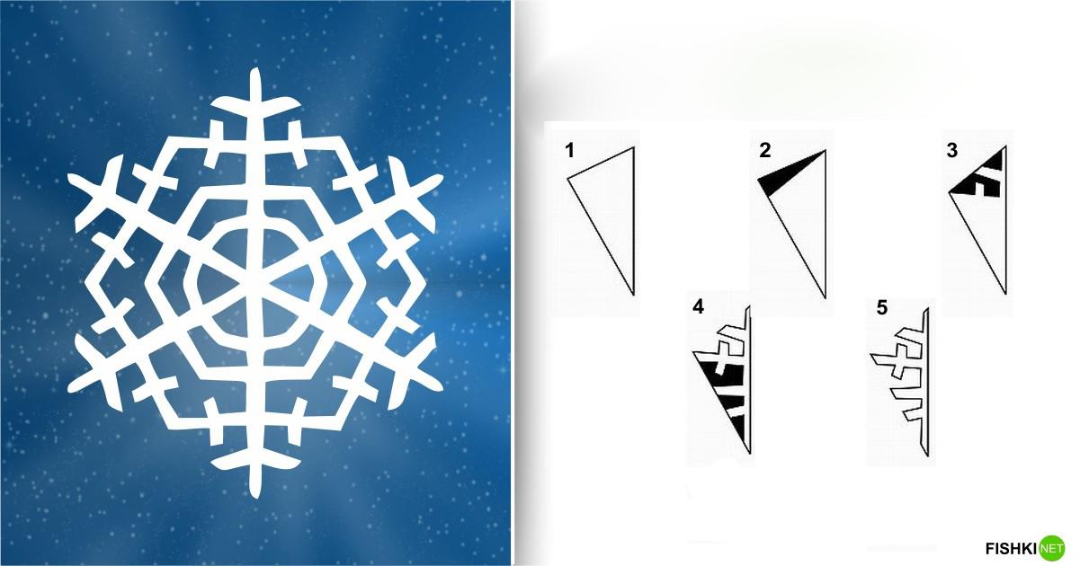 estrellas de copos de nieve de navidad con papel 5