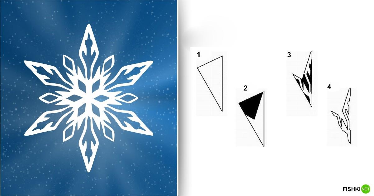 estrellas de copos de nieve de navidad con papel 6