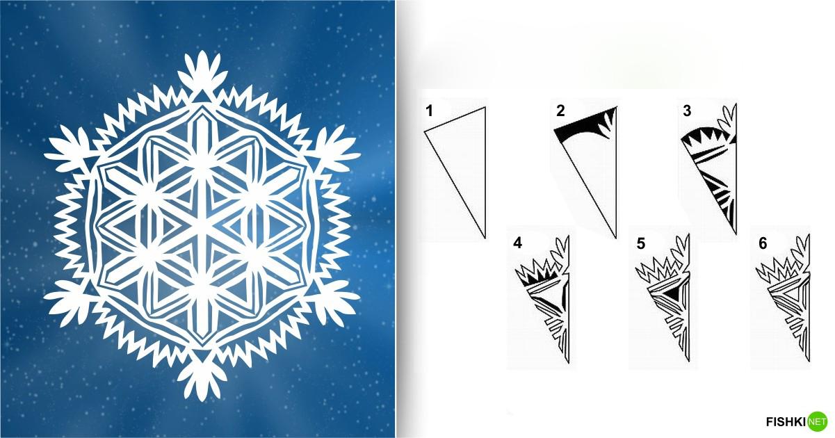 estrellas de copos de nieve de navidad con papel 8