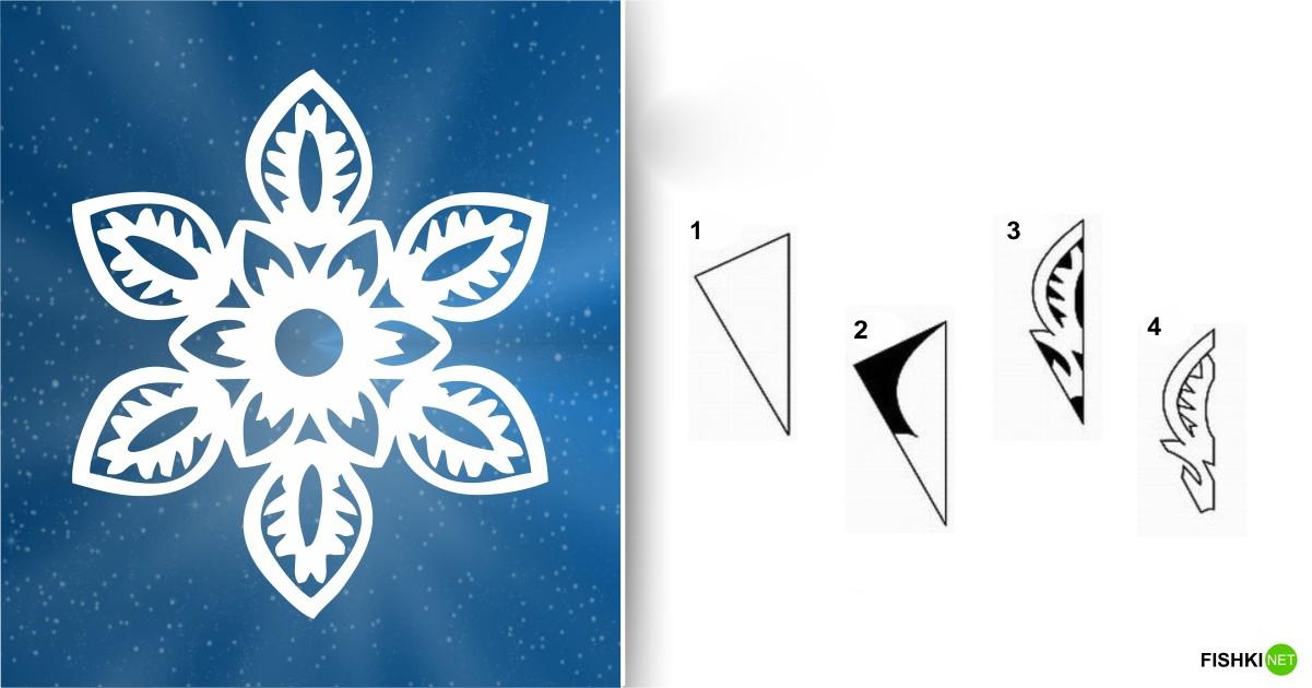 estrellas de copos de nieve de navidad con papel 9