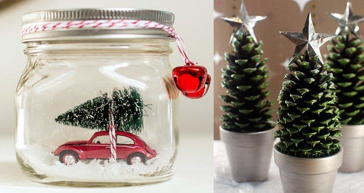 Merveilleux 6 Ideas Creativas Y Baratas Para Decorar En Navidad Que Puedes Hacer Tú  Mismo
