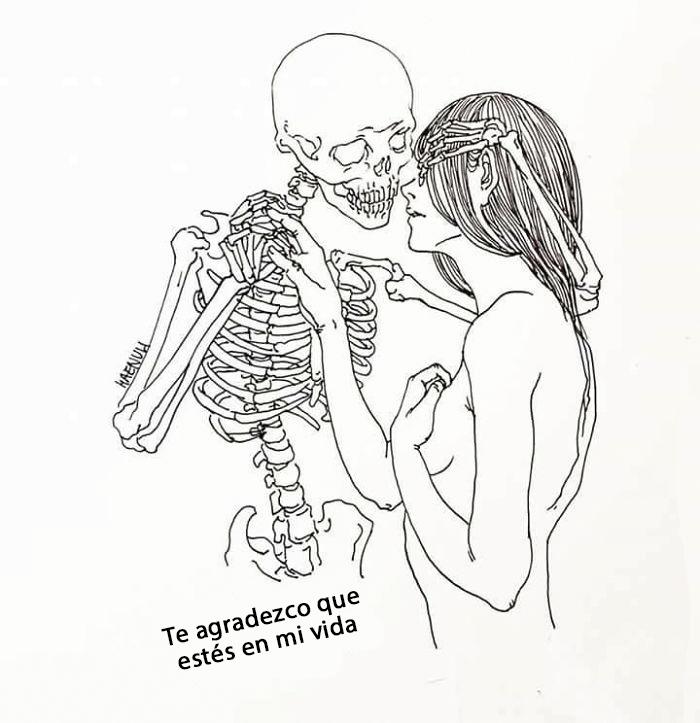 ilustraciones de una disenadora de moda sobre la depresion 10