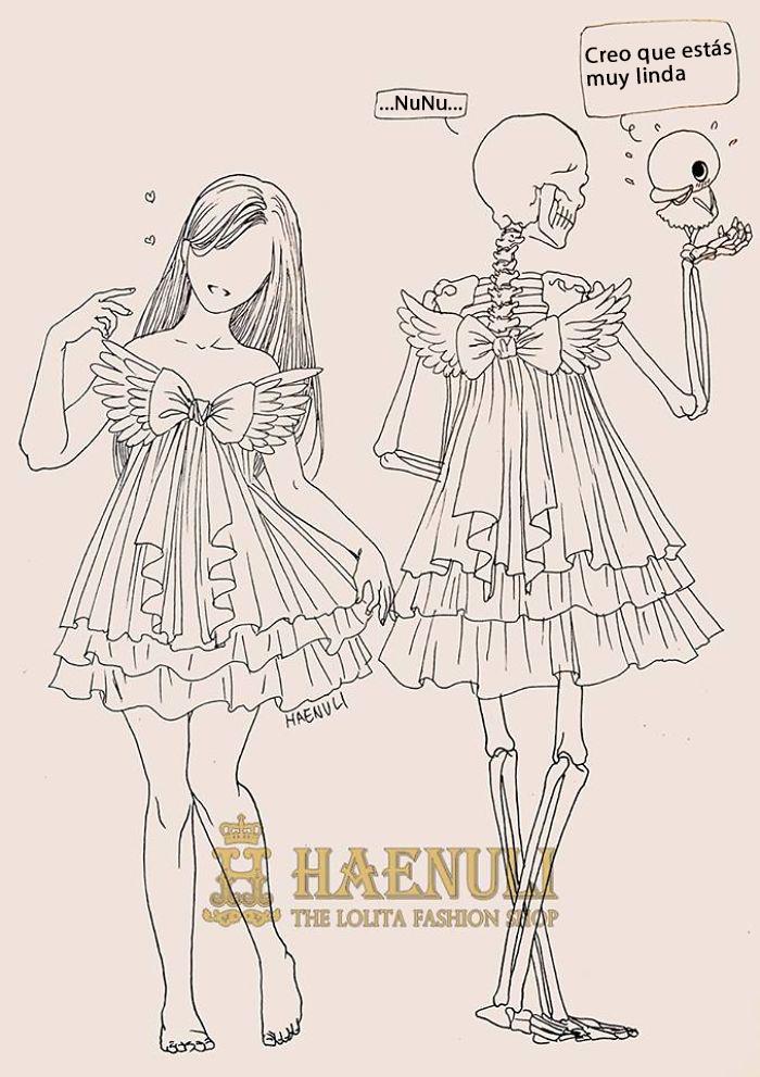 ilustraciones de una disenadora de moda sobre la depresion 15