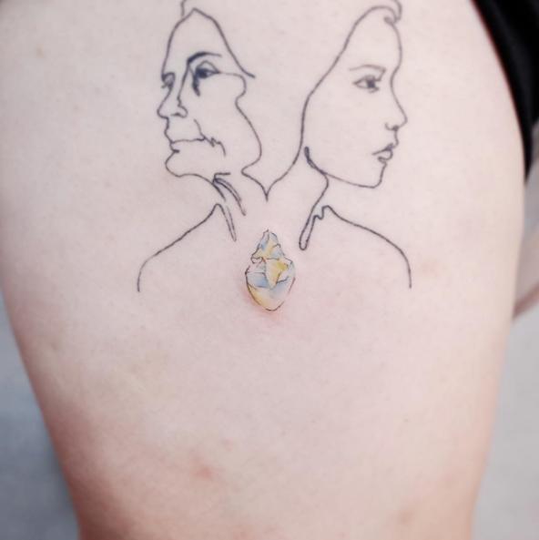 Los Tatuajes Super Minimalistas De Este Artista Te Van A Enamorar