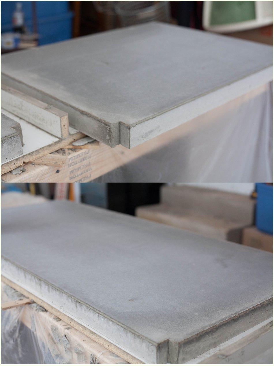 Usa hormig n para hacer una encimera de cocina econ mica y - Encimera de hormigon ...