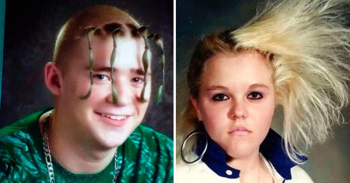 20 Peinados Hilarantes De Jovenes Que Crecieron En Los Anos 80 Y 90