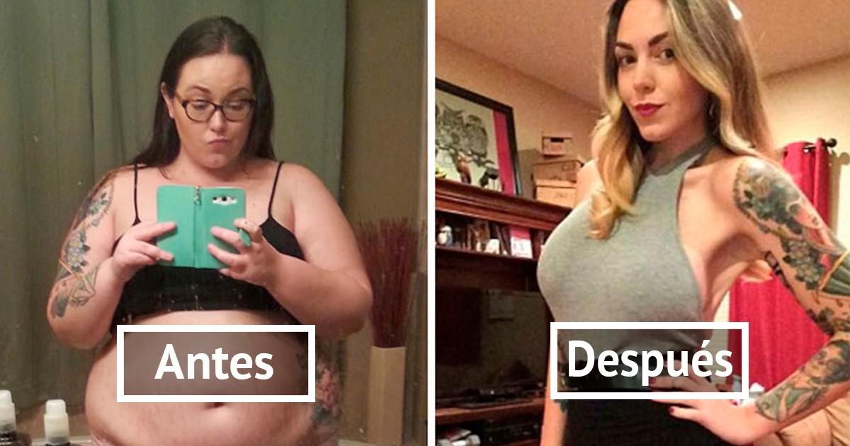 20 antes y después de perder peso que te harán creer que..