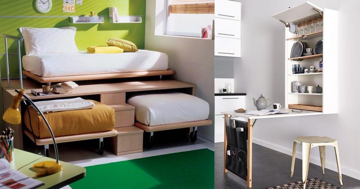 20 incre bles ideas para habitaciones peque as que te for Decoracion casa jovenes