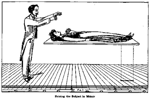trucos de magia levitacion
