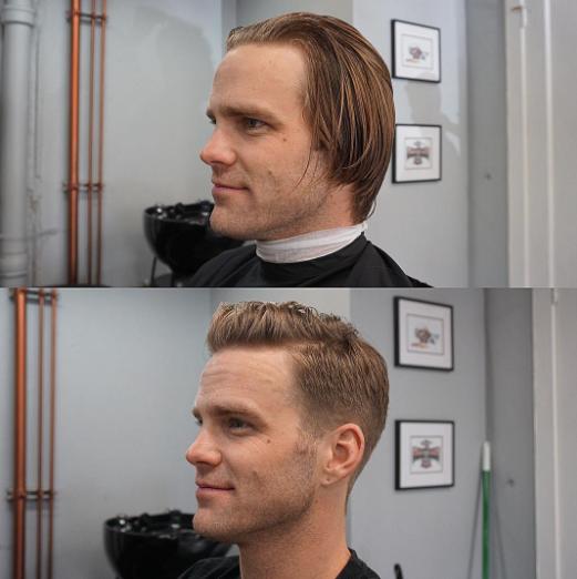corte de pelo moderno