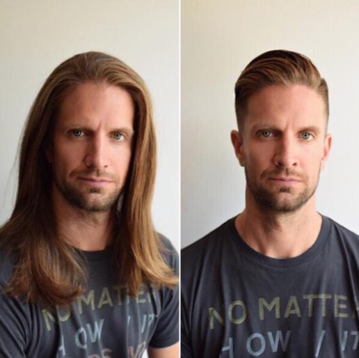 chico corte de pelo moderno