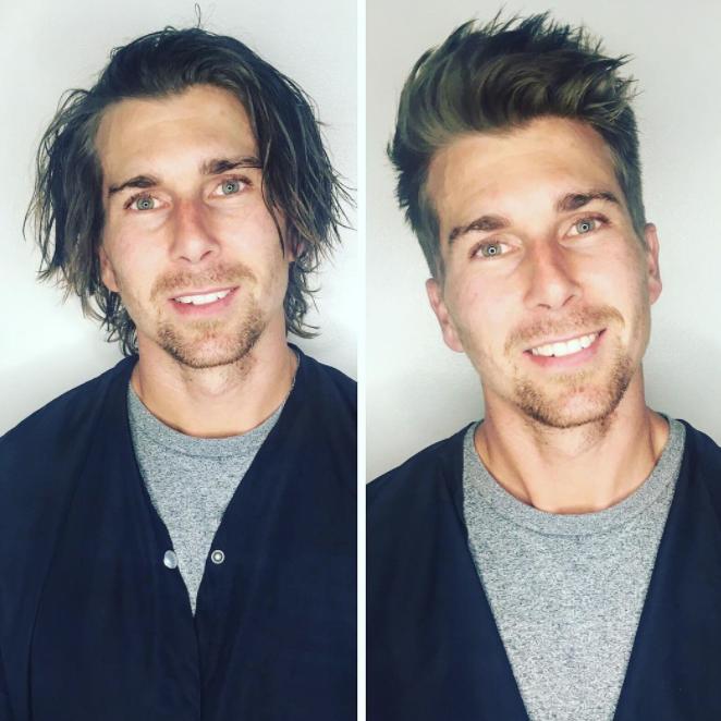 corte actual de pelo