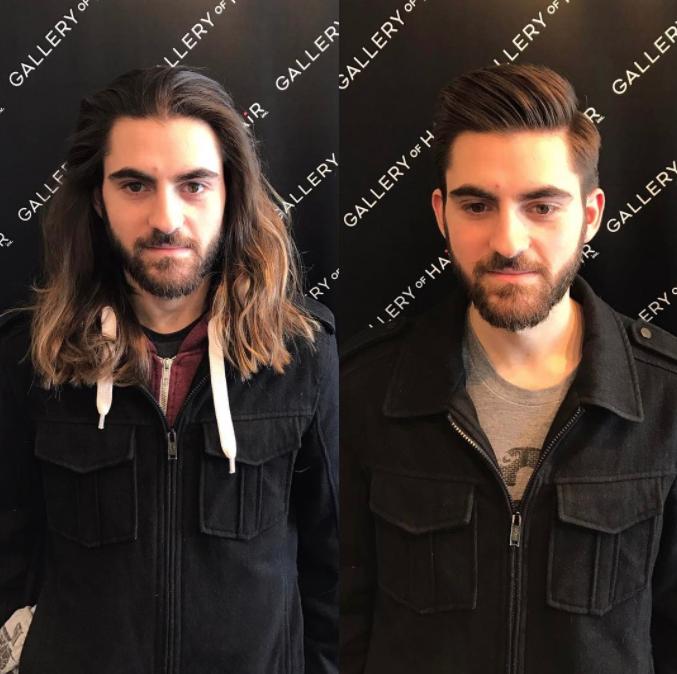 peinados para hombres de moda