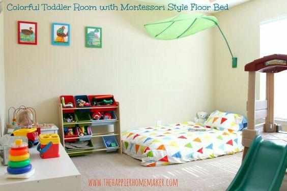 Crea una habitaci n montessori para tu beb con estos sencillos trucos y consejos la voz del muro - Crea tu habitacion ...