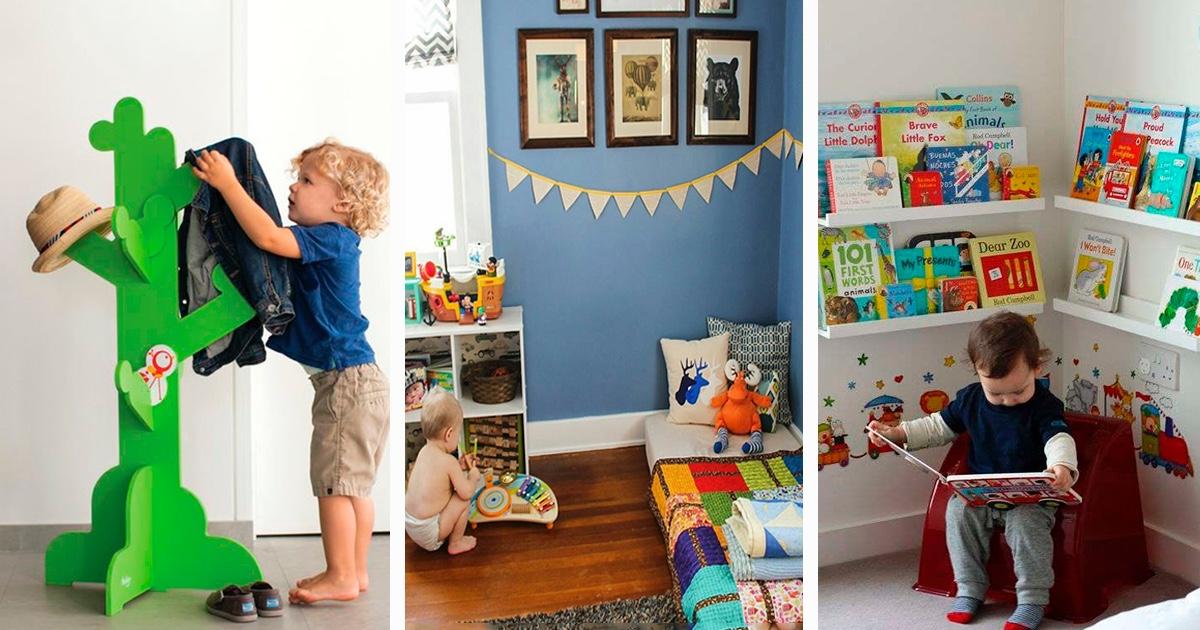 Crea una habitaci n montessori para tu beb con estos - Crea tu habitacion ...