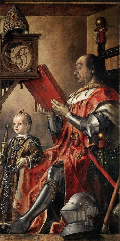 Berruguete_Federico-de-Montefeltro-y-su-hijo-Guidobaldo