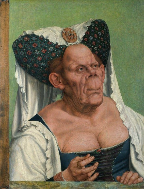 una-mujer-vieja-y-grotesca