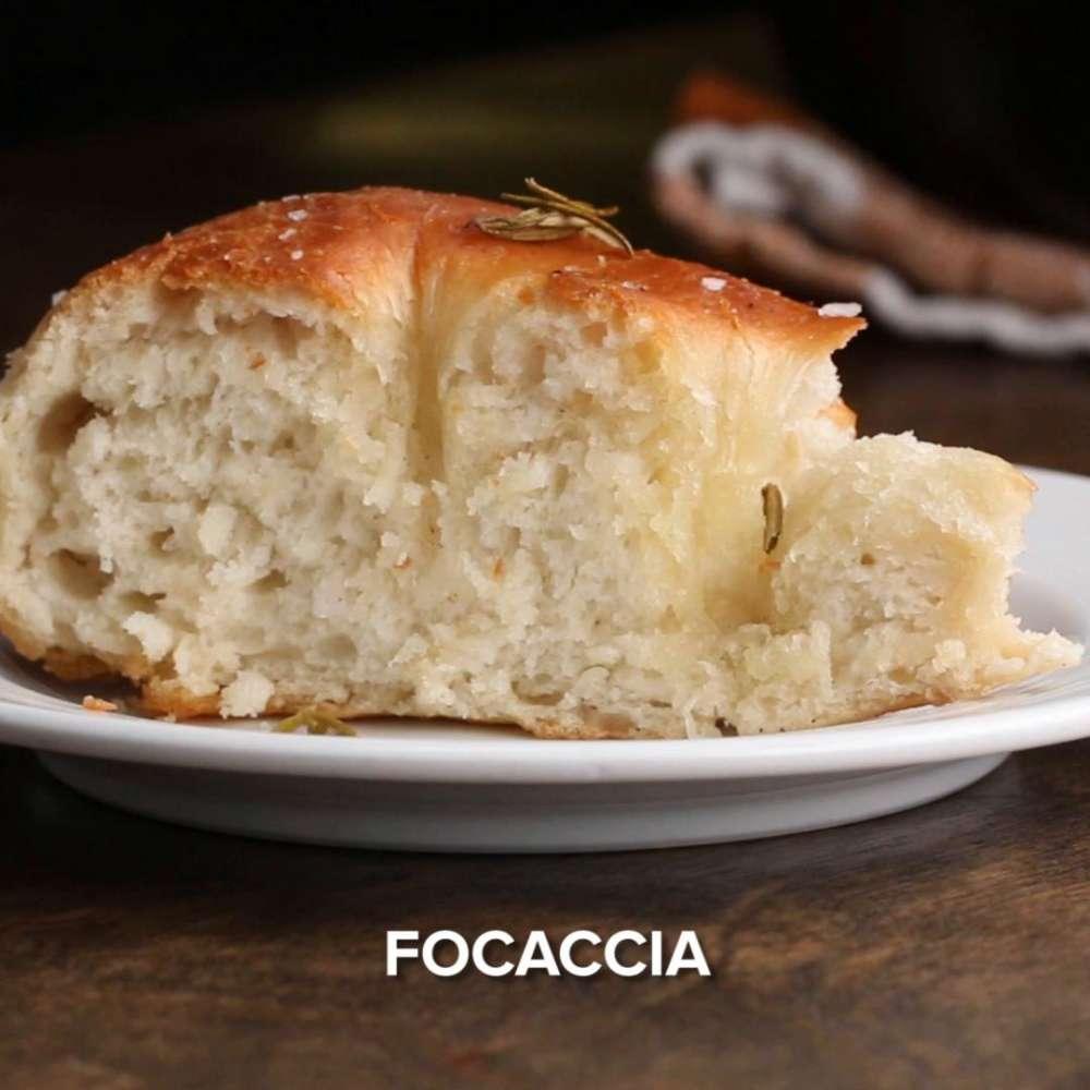 receta con pan casero