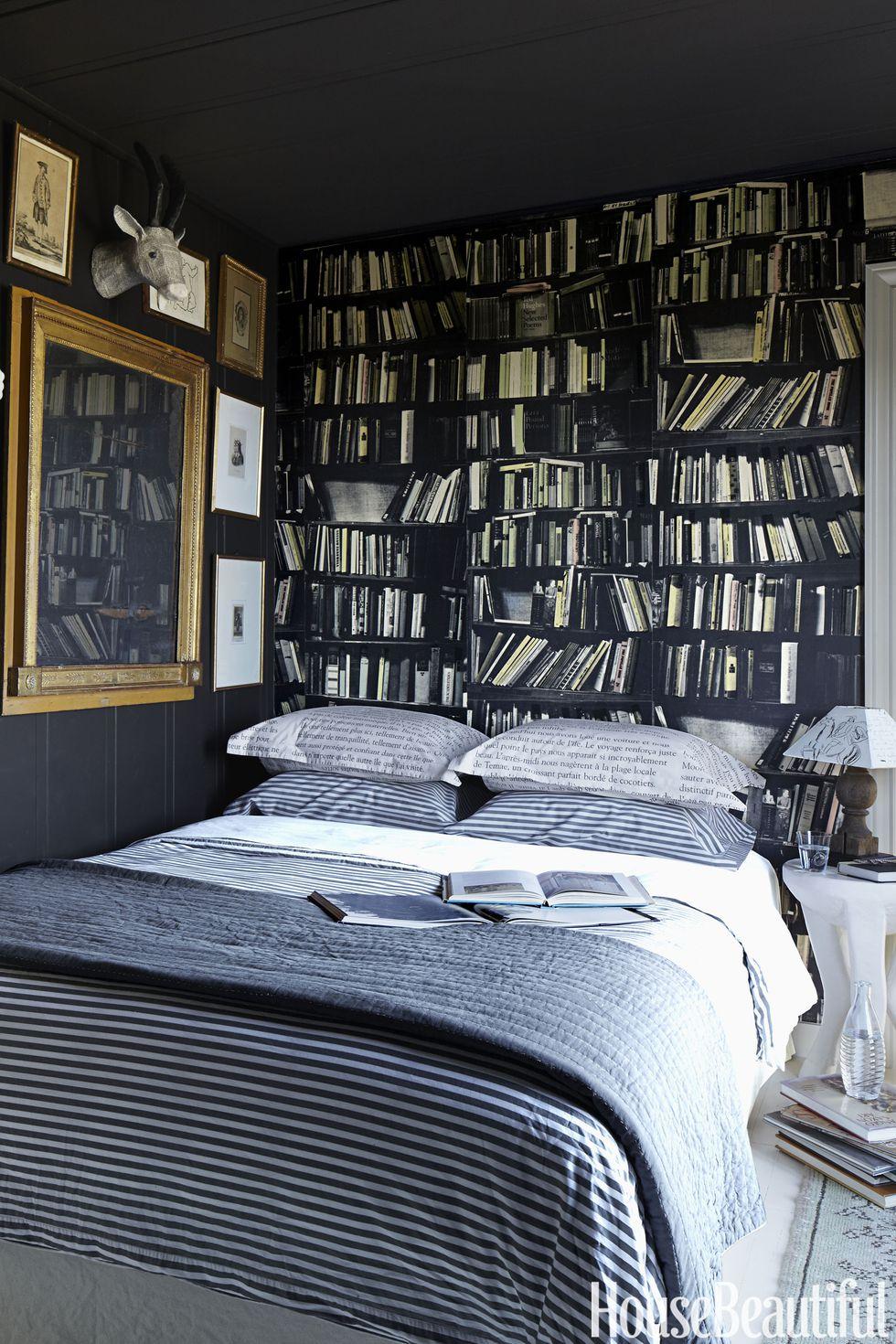 cuartos con biblioteca