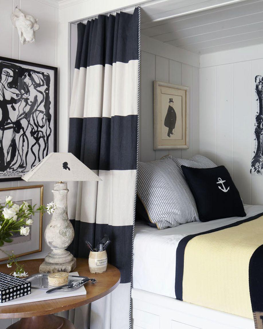 camas con cortina