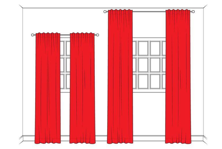 cortinas altas