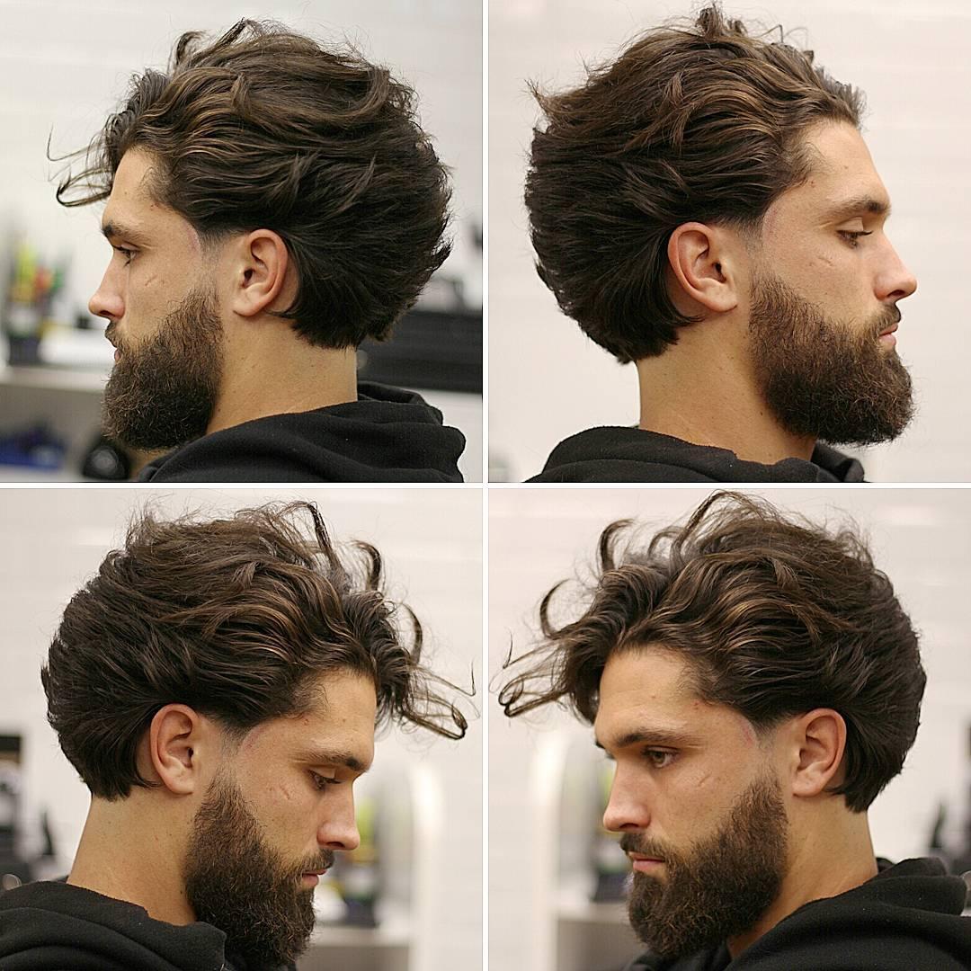 corte de pelo de moda para hombre