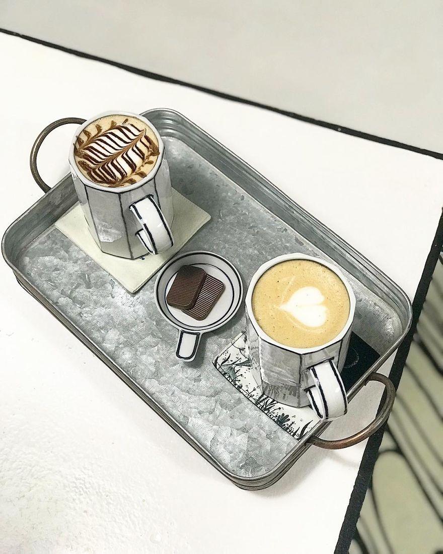Cafés, bebida