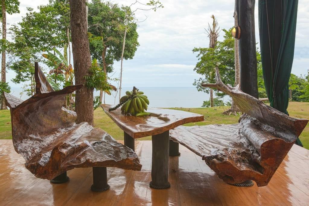 casa del árbol, espacio natural