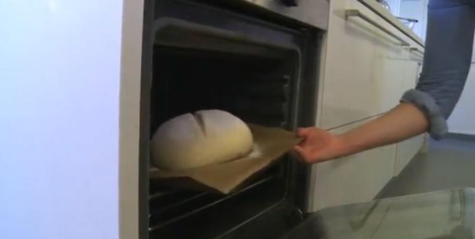 Horneado del pan