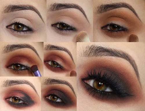 maquillaje ojos ahumado