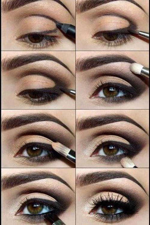 maquillaje ojos elegante