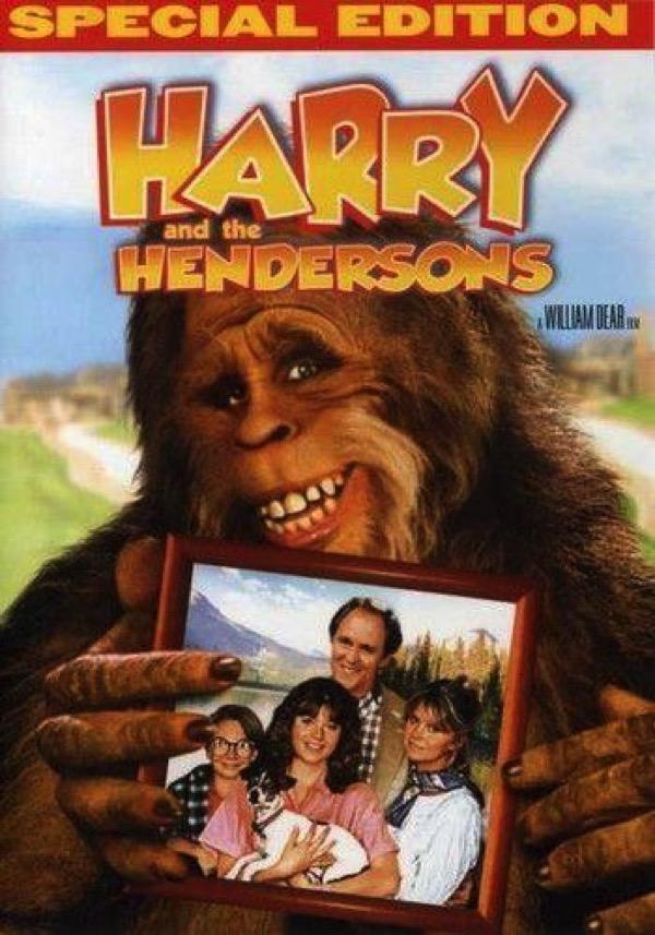 Películas para niños. Harry y los Henderson