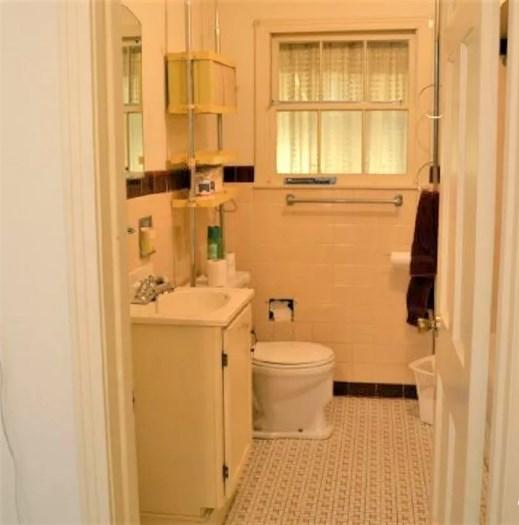 baño pequeño con ventaba