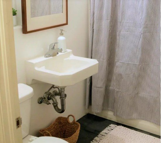 lavamanos blanco