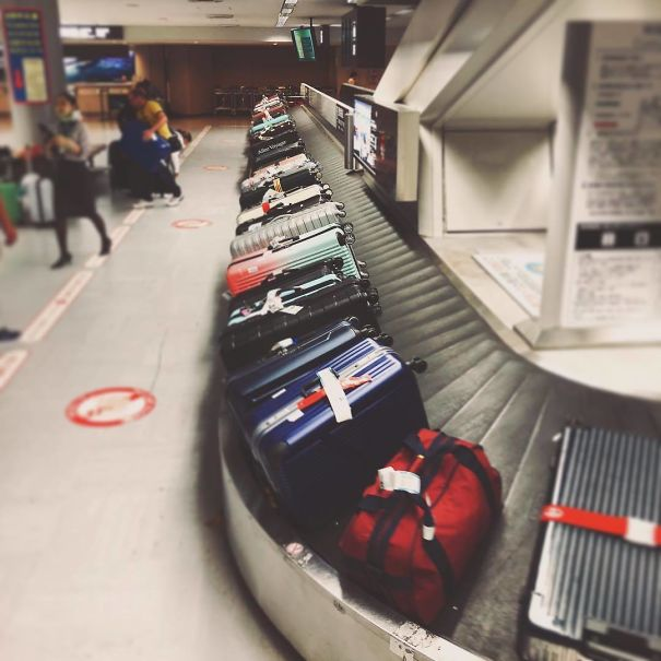 japones , equipaje