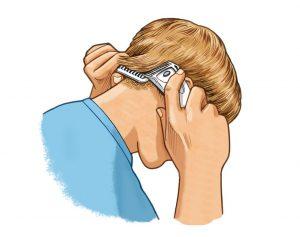 cómo cortarse el pelo uno mismo