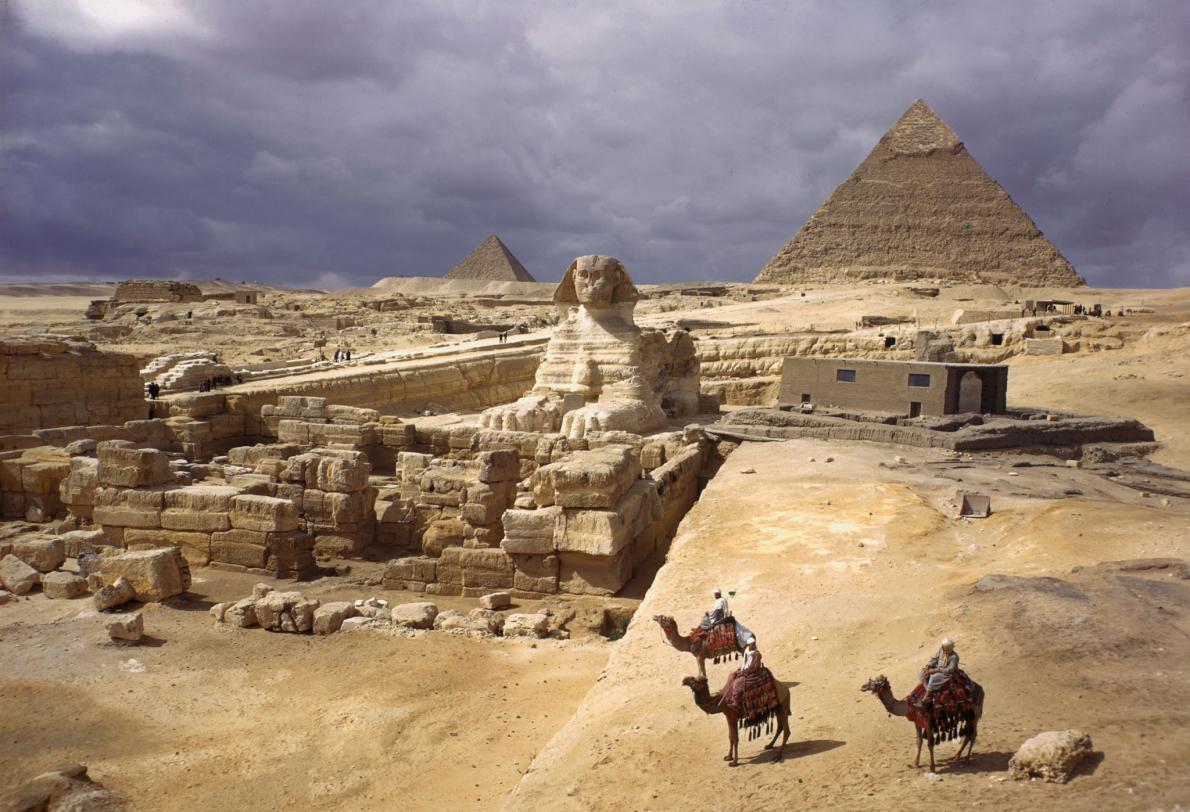 piramides de egipto por dentro