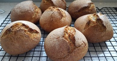 Receta de pan integral de espelta