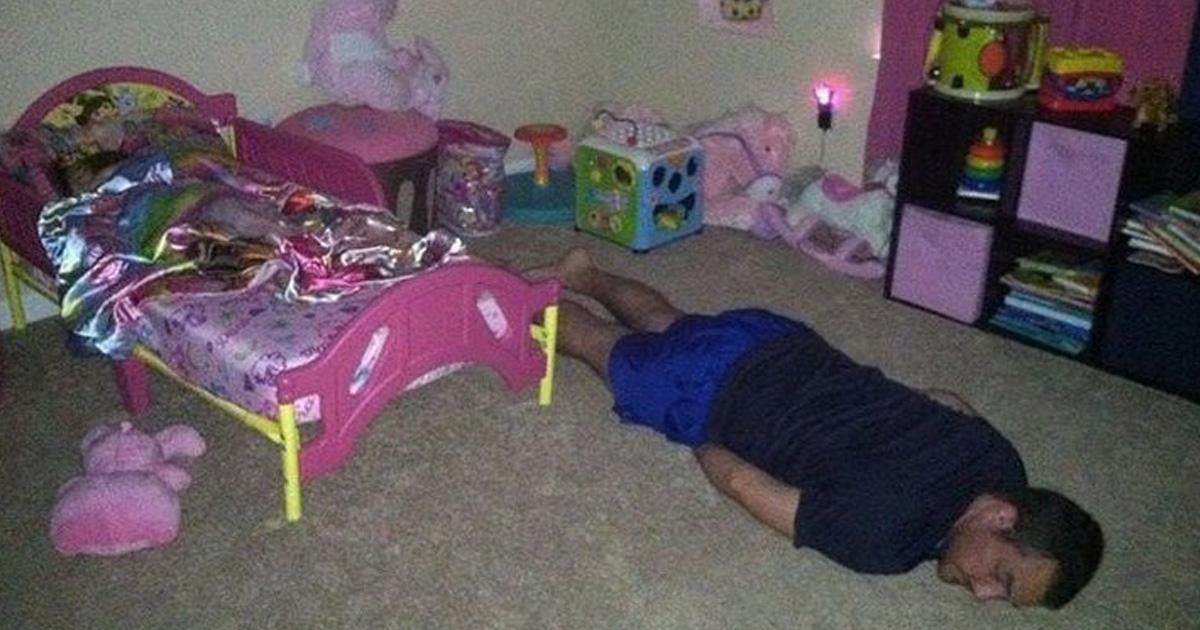 padre dormido