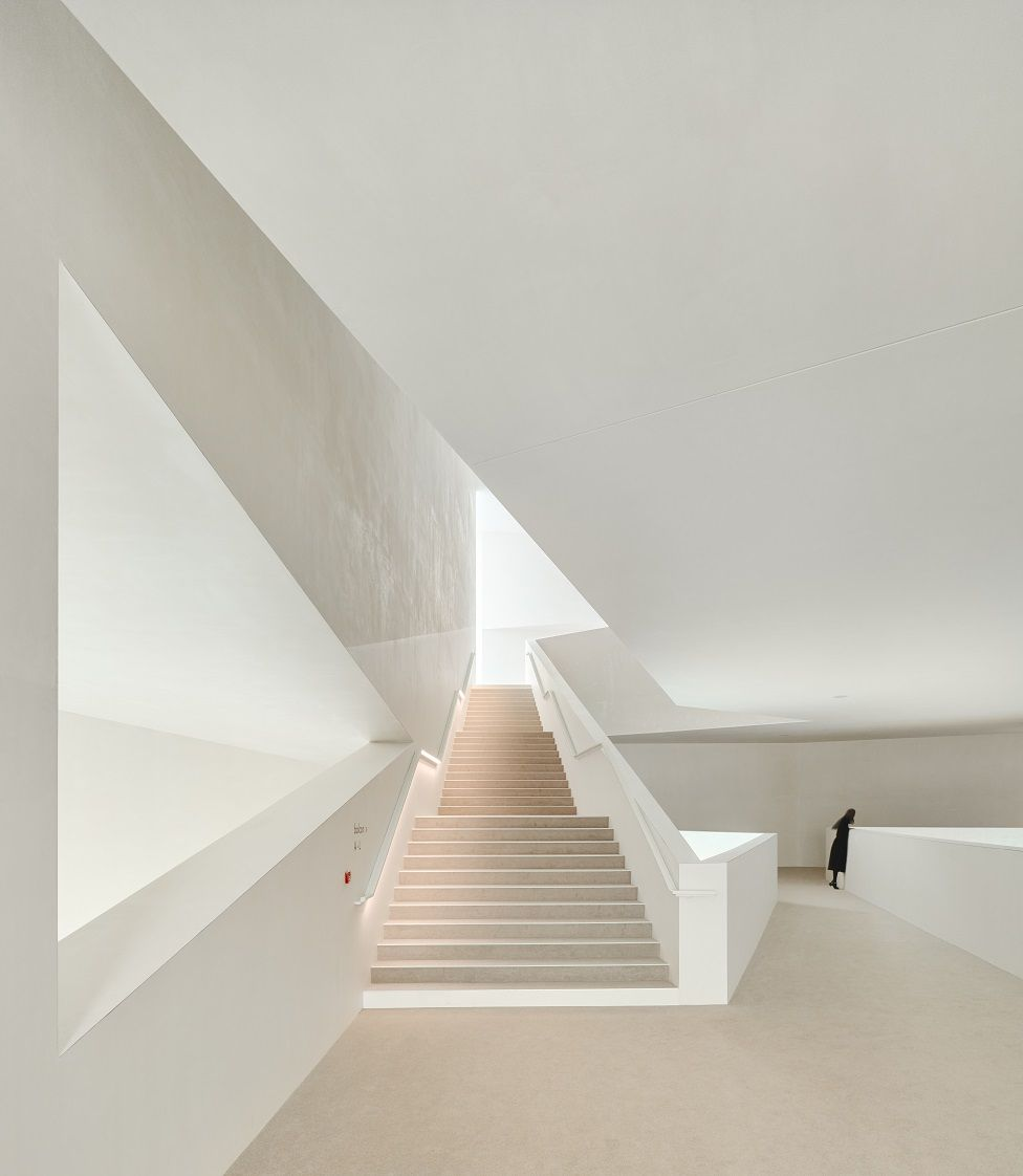 Concurso foto arquitectura. Las escaleras del teatro Théodore Gouvy, en Freyming-Merlebach (Francia)