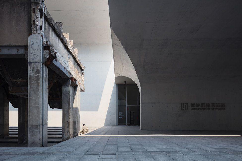 Concurso foto arquitectura. Museo largo West Bund, en Shangai (China)