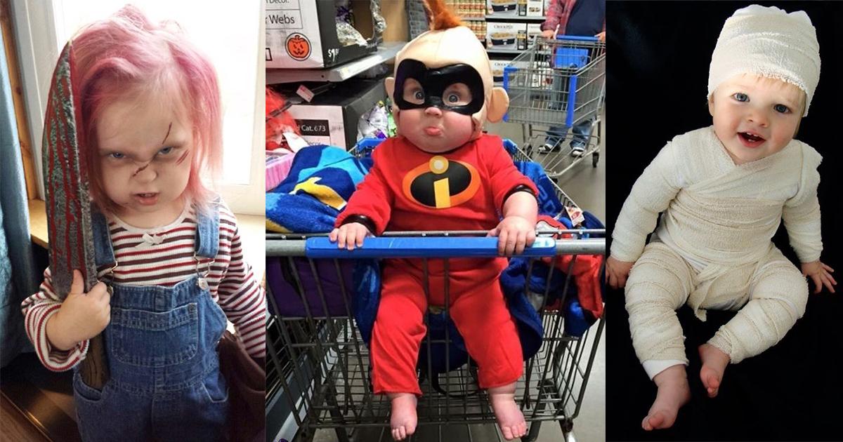 20 Geniales Maneras De Disfrazar En Halloween A Tu Bebé