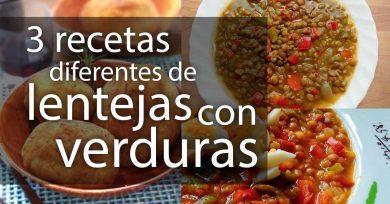 recetas de lentejas con verduras